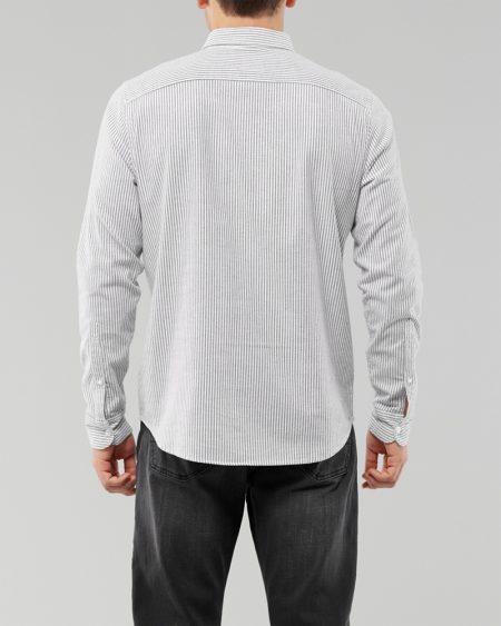 Hình Áo sơmi nam Hollister HCO-US-SM33 Stretch Oxford Slim Fit Shirt