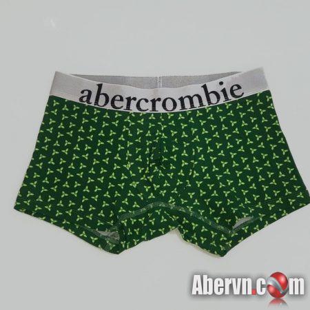 Hình Quần lót nam Abercrombie AF-UD26 Classic Trunk Green Pattern