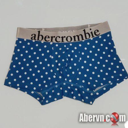 Hình Quần lót nam Abercrombie AF-UD28 Classic Trunk Blue Pattern