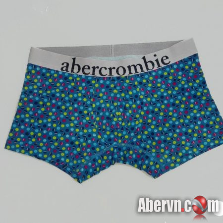 Hình Quần lót nam Abercrombie AF-UD30 Classic Trunk Blue Pattern