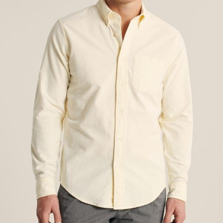 Hình Áo sơ mi nam Abercrombie AF-US-SM121 Oxford Button-Up Shirt